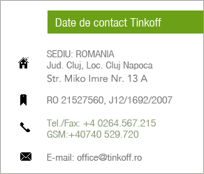 Contact Tinkoff